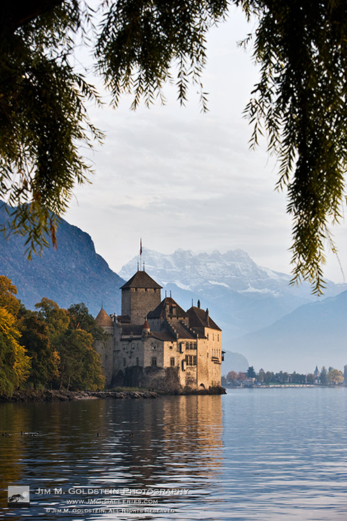 Château de Chillon, Switzerland - stock travel photography by Jim M. Goldstein