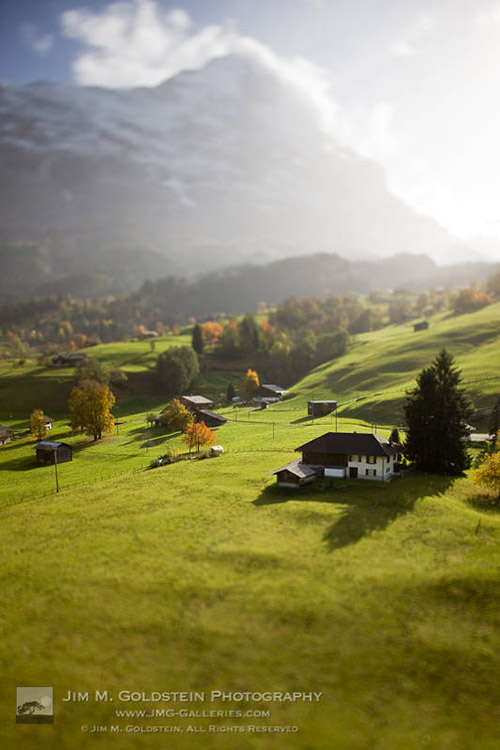 Grindelwald Homes Under the Shadow of the Eiger, Switzerland