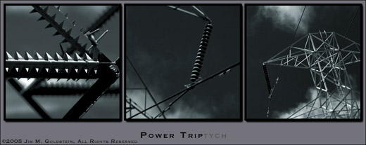 Power Triptych by Jim M. Goldstein