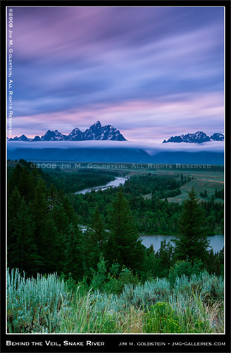 Behind the Veil, Snake River - Grant Teton National Park