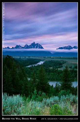 Behind the Veil, Snake River - Grant Teton National Park