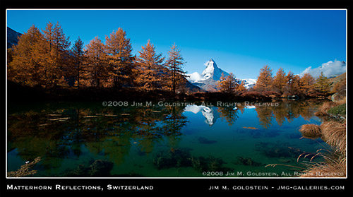Matterhorn Reflections, Switzerland