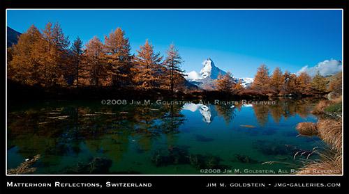 Matterhorn Reflections, Switzerland
