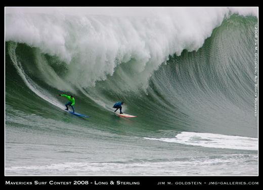 Mavericks Surf Contest 2008 - Long and Sterling