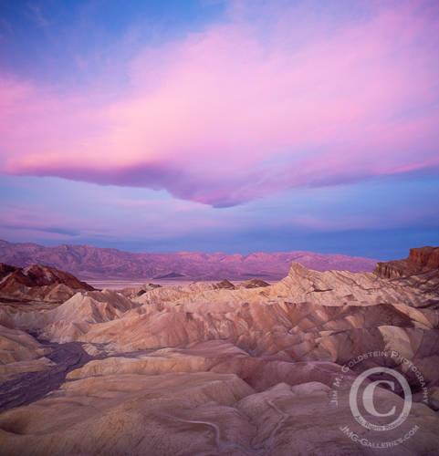 Zabriskie Point Sunrise, Death Valley National Park, California