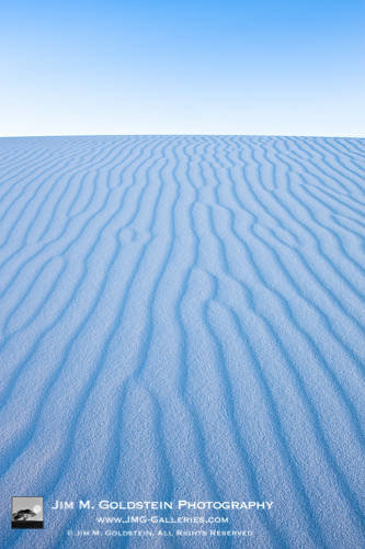 Zen - White Sands National Monument Landscape Photo by Jim M. Goldstein