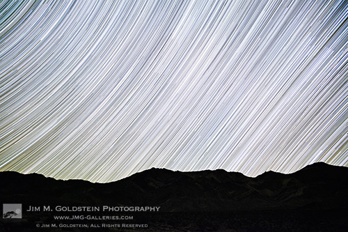 Ecliptic Star Trails - Nature and Landscape Photography by Jim M. Goldstein