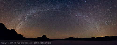 Milky Way Over Death Valley (180° Panoramic)