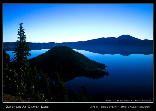 Daybreak at Crater Lake