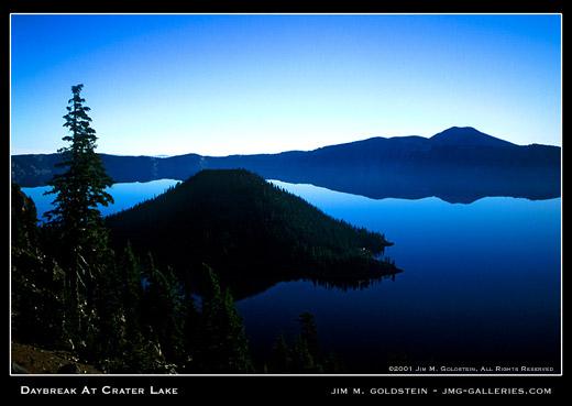 Daybreak at Crater Lake
