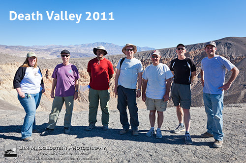 JMG-Galleries Death Valley Photo Tour Participants