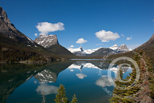 St. Marys Lake - Glacier National Park