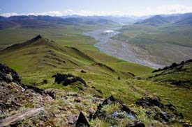 Arctic Refuge - Caribou Pass and Kongakut River Valley