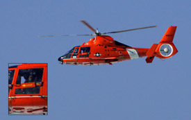 Everyone is a photographer, even the coast guard