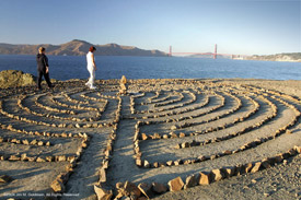 Locals Walk The Labyrinth As Part of their Nightly Routine (II)