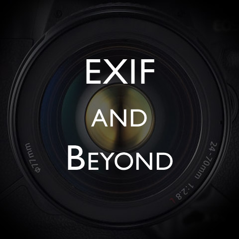 EXIF and Beyond by Jim M. Goldstein