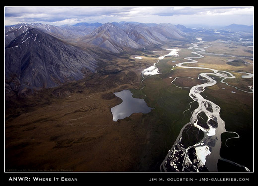 ANWR Where It Began landscape photo by Jim M. Goldstein