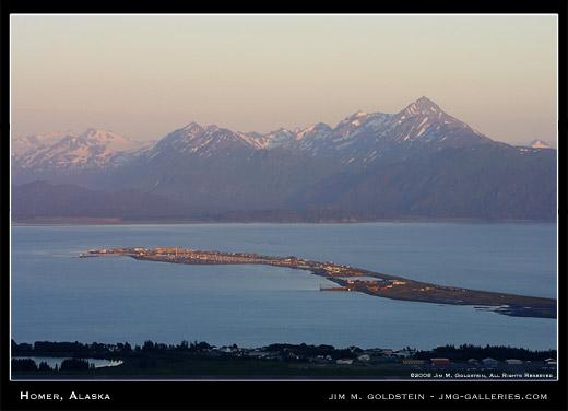 Homer Alaska photographed by Jim M. Goldstein