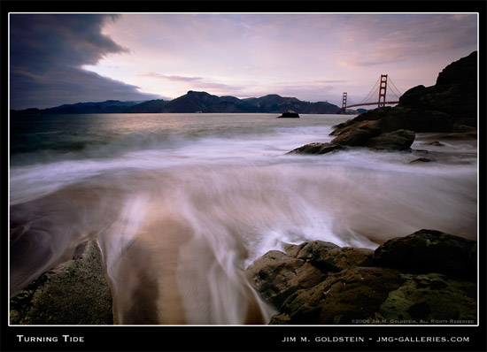 Turning Tide - Jim M. Goldstein Photography